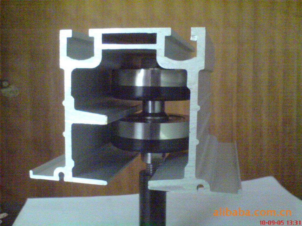 活动隔断配件铝型材图片,活动隔断配件铝型材