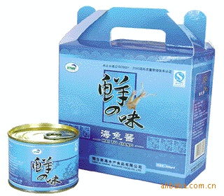 海产品干货招商批发 海味零食 团购 福利 即食海鲜  海兔酱礼盒