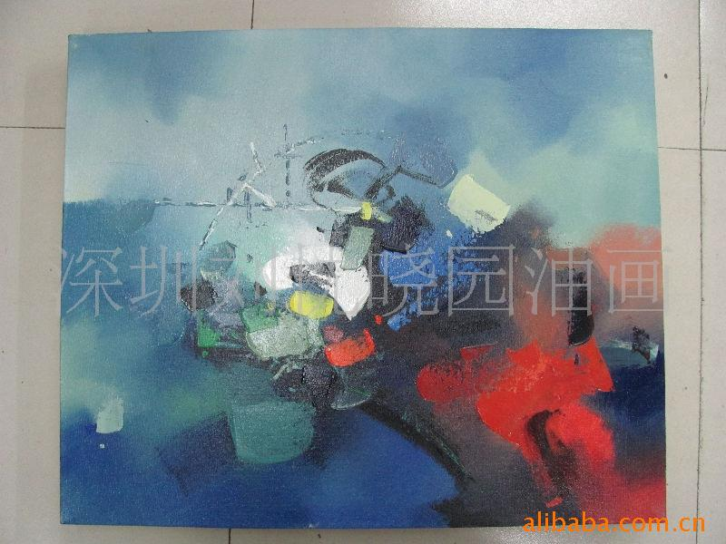 夏 秋 冬 抽象油画时尚宾馆饭店用 产品服务 陈忱