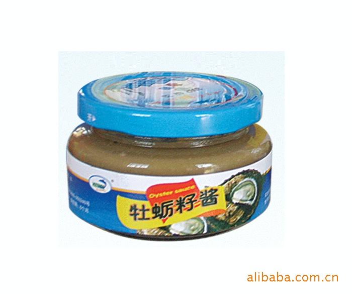 休闲食品招商批发 海味零食 新海110克牡蛎子酱