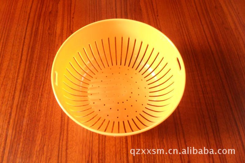 【优质环保塑料淘米箩塑料滴水篮】价格,厂家中空v塑料机图片