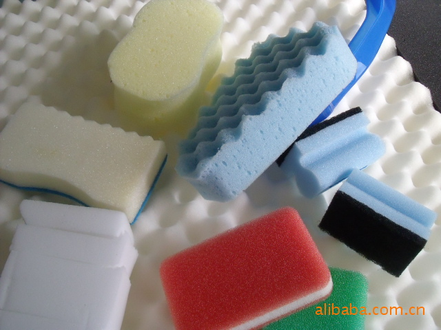 聚醚海绵 彩色棉