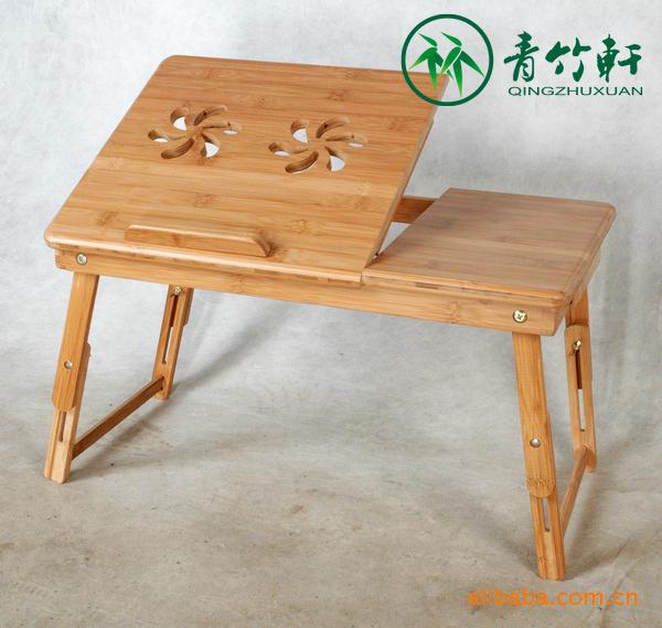 楠竹轩竹制家具多功层板3书桌知识工艺品小家具青竹木工的图片