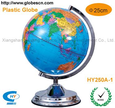 地球仪(HY250A-1)法语,德语,希腊语,拉丁语,日语,西班