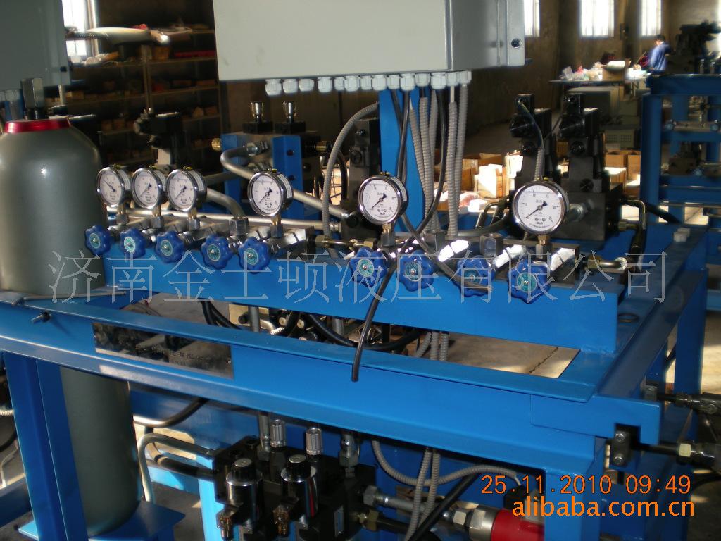 供应造纸机(施胶机)液压电控系统、液压站