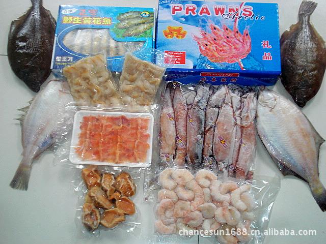 海鲜礼盒大礼包、大连高档水产海鲜——蒸蒸日上