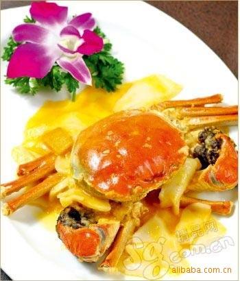 供应螃蟹大闸蟹  上等蟹 蟹都汇-阳澄湖海鲜水产品