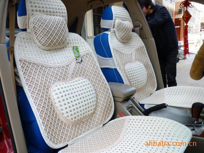 厂家直销 夏季冰丝汽车坐垫 四季垫 汽车座垫车