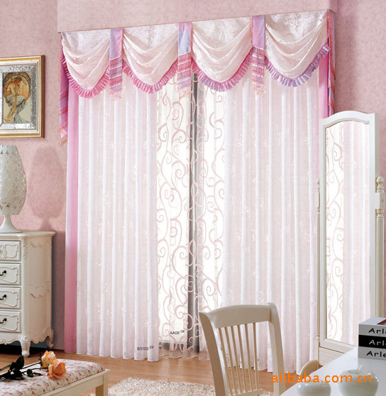 时尚的扣波帘,现代风格窗帘 布艺窗帘 沙质窗帘图片,本公司供应新图片