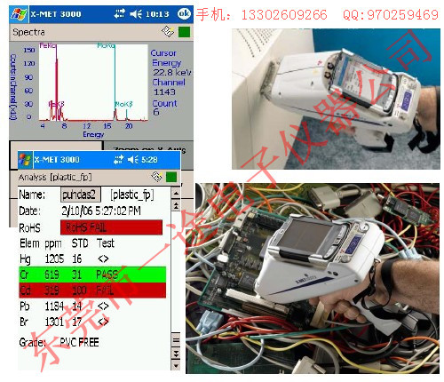 手持式X-MET7000TXR 光谱仪/牛津ROHS荧光分析仪/检测仪