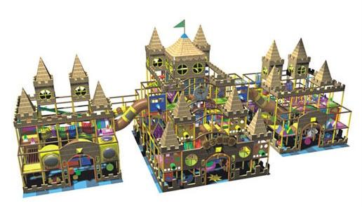 动淘气堡 充气城堡 室内儿童乐园 冰天雪地 阿里巴巴