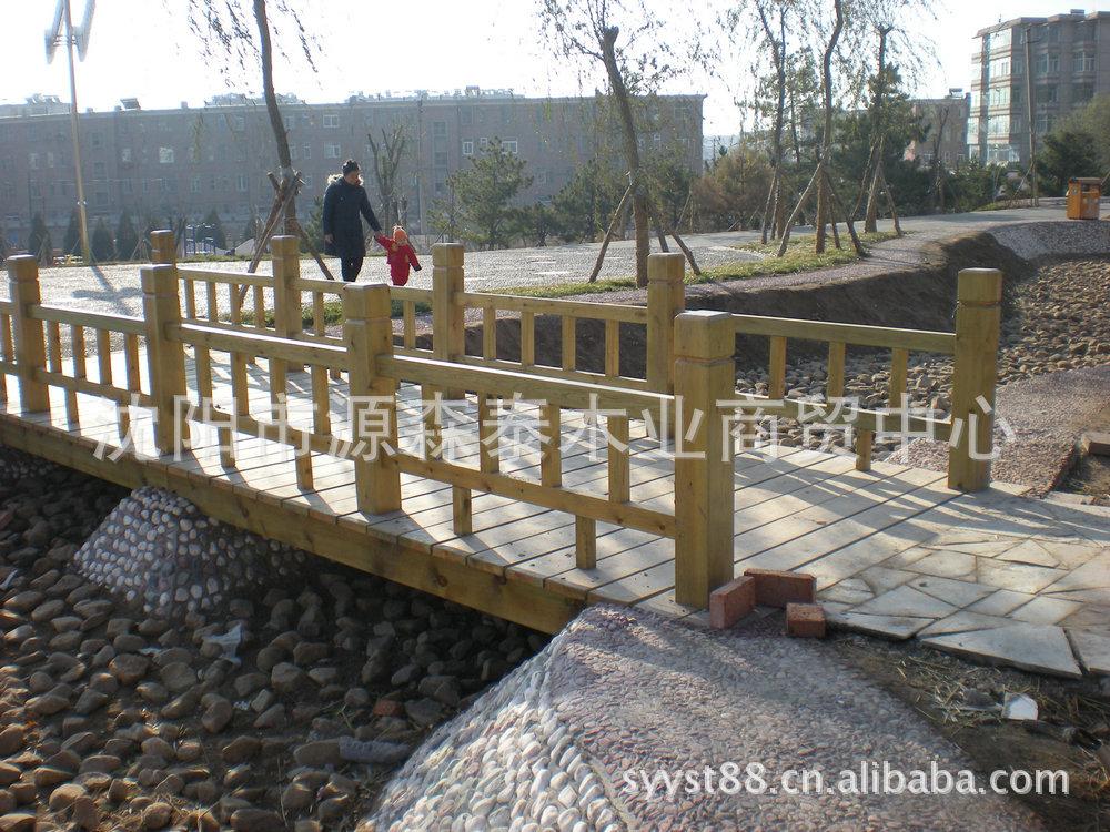 梁 景观桥梁 防腐木拱桥 景观工程项目尽在