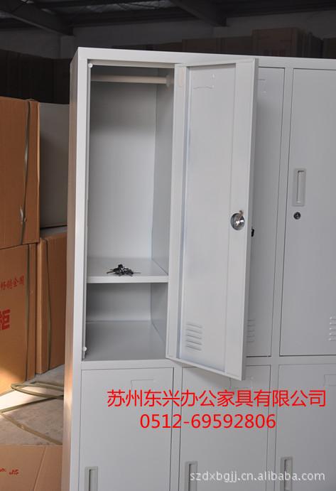 办公柜 六门更衣柜铁皮更衣柜员工更衣柜量大从优可定做 办公柜尽在