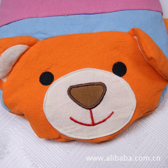 品质保健枕儿童卡通枕头刺绣宝宝枕头 婴儿枕 婴童枕芯尽在图片