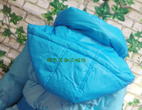 Free shipping,Child down coat female child down coat children's clothing down coat thickening 2012