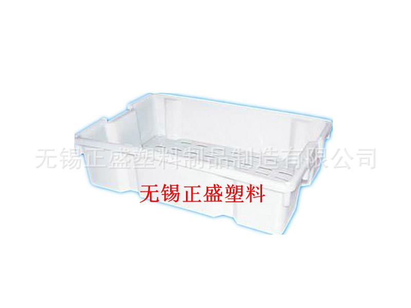 鱼箱水产箱冷冻海鲜周转箱镂空塑料箱食品周转箱无锡『厂家直销』