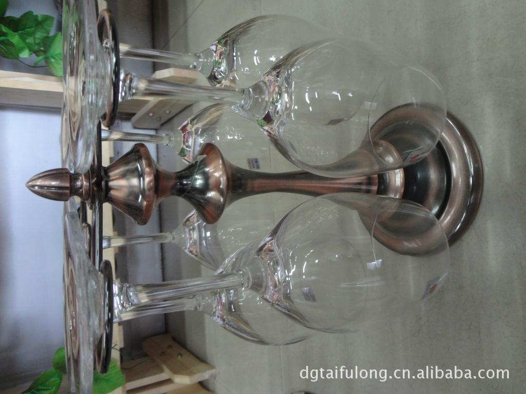 欧式红酒杯架 葡萄酒架 红酒高脚杯架 不锈钢杯架图片,旋转杯架 欧