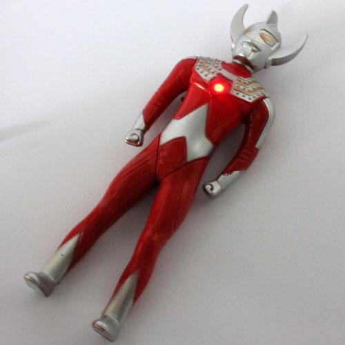 【特价批发中号发光发音奥特曼玩具 宇宙超人