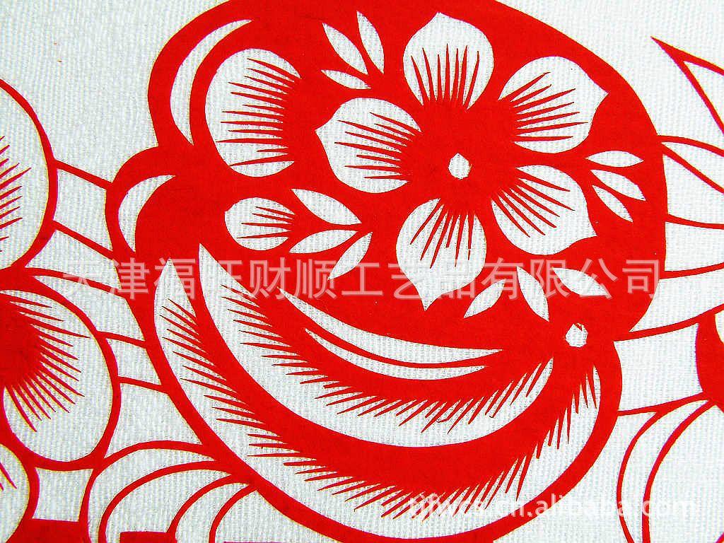 发 手工剪纸 剪纸画轴 春节剪纸 剪纸礼品批发采购