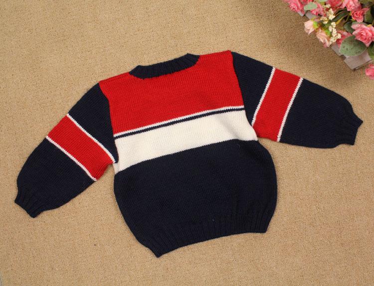 童装批发 手工编织毛衣 男童帅气款 婴儿毛衣 儿