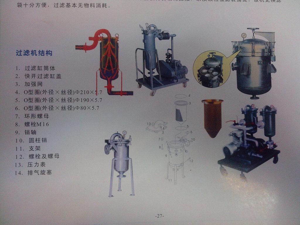 【厂家直销优质袋式过滤器,不锈钢乳胶漆袋式