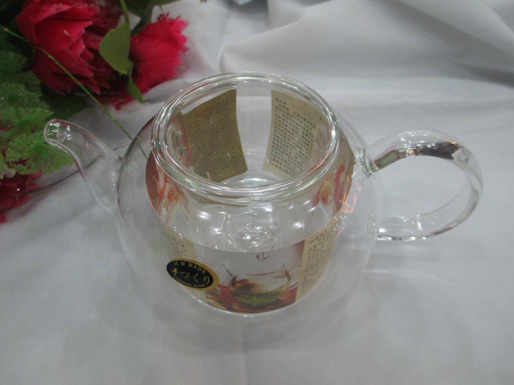 批发供应纯透明  耐热玻璃杯 花茶专用(优惠价)