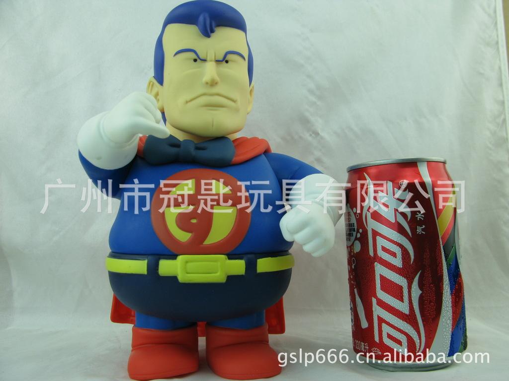 阿拉蕾太空超人动漫周边 iq博士搪胶动漫手办玩偶 傻瓜超人高清图片