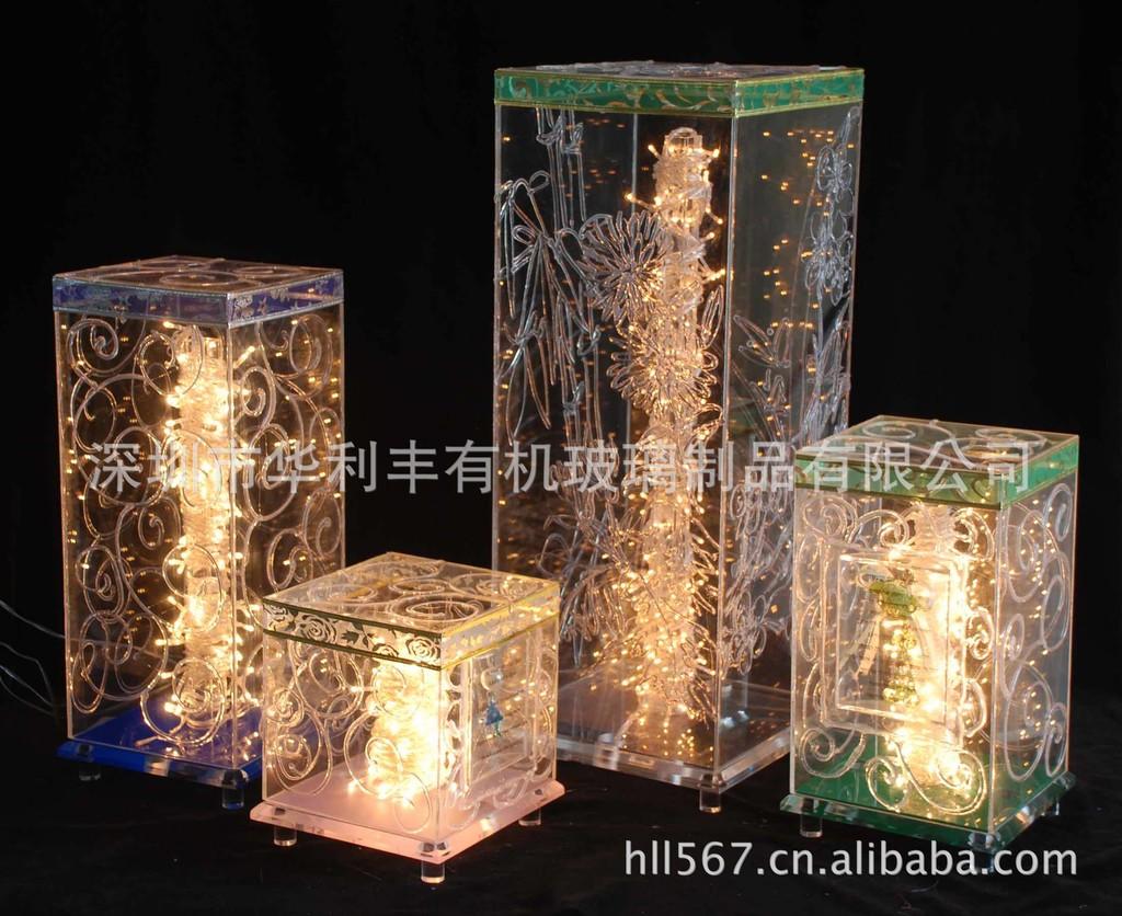 灯箱定做亚克力图纸字 亚克力灯箱牌 LED灯箱陕西省竣工图厂家图片