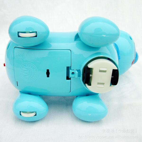 qq 音乐/电动玩具音乐小狗 音乐灯光万向QQ狗大号电动狗 儿童玩具