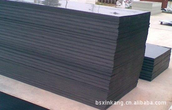 厂家销售硬质黑色塑料板、质量保证黑色PVC板、