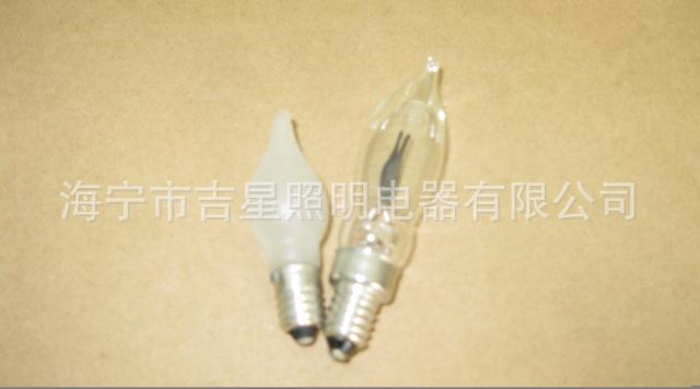 加工定制磨砂节能C35管型灯泡