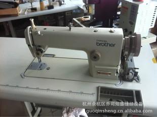 浙江杭州市二手服装加工设备-二手日本兄弟平缝机 工业缝纫机