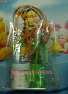 正品批發綠茶沐浴露500ml+新款綠茶身霜250ml 組合套送禮袋