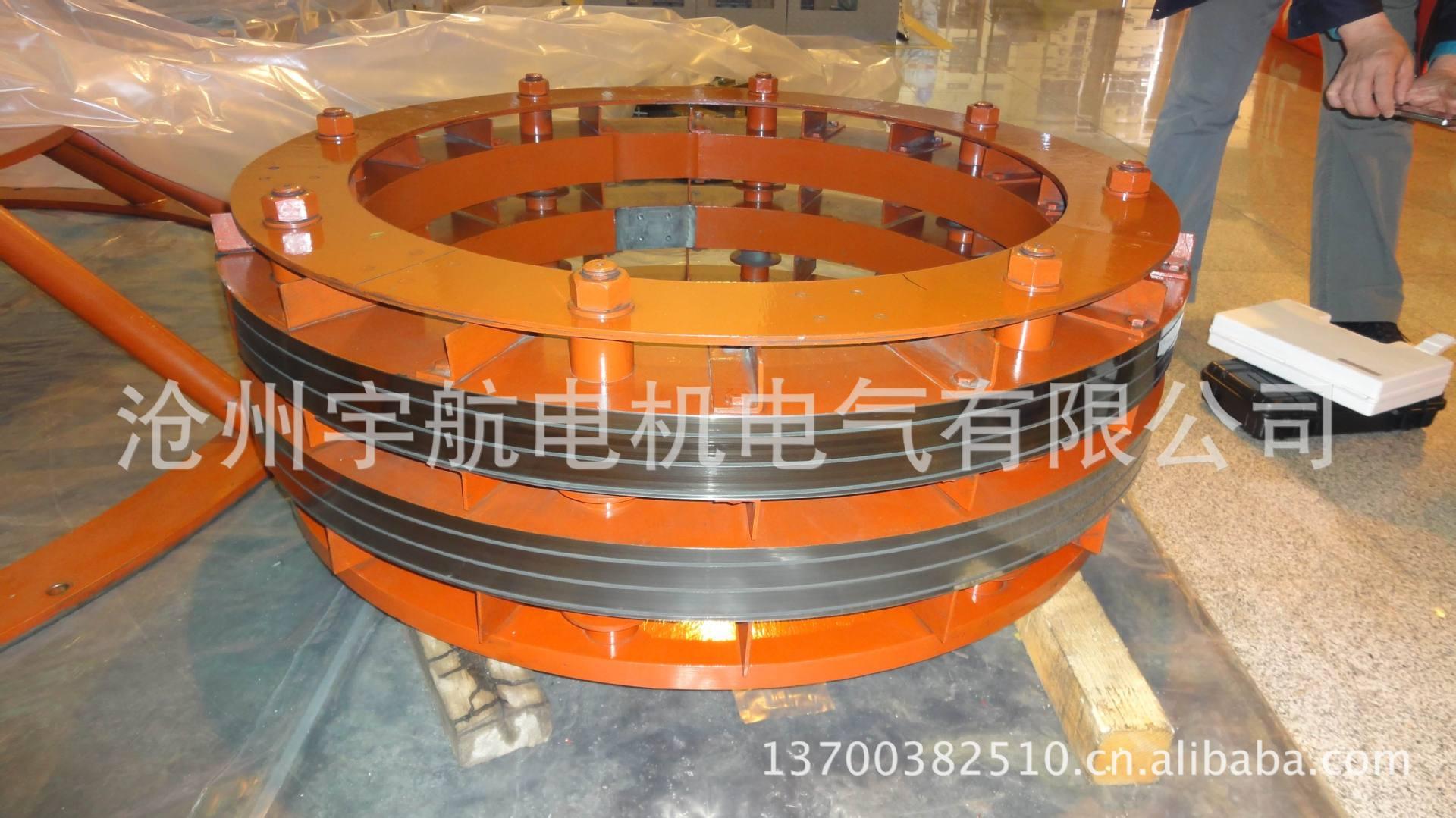 电励磁永磁同步电机 结构