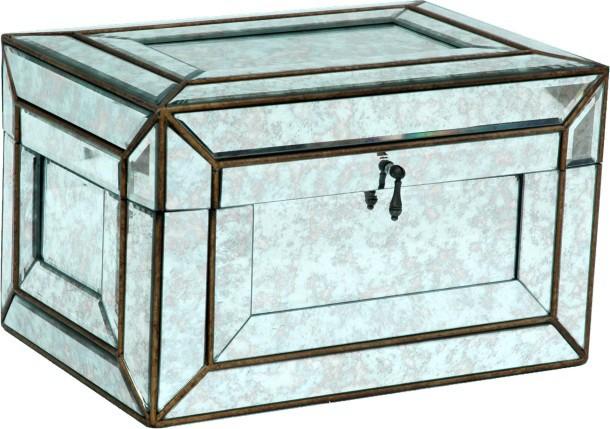 玻璃珠宝盒