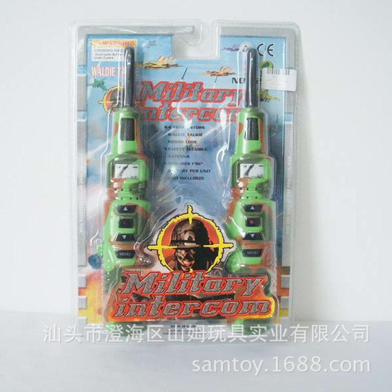 SM073879 军事火箭带灯对讲机 新款军事火箭带灯对讲机玩