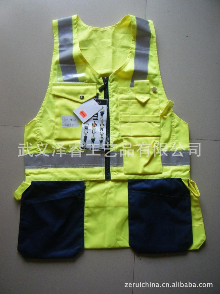 马甲背心 反光衣 交通安全反光服装 棉衣 雨衣