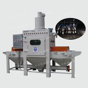 供应自动通过喷砂机。水平输送自动喷砂机,玻璃打砂机。