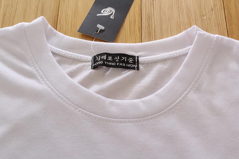 季女式圆领短袖T恤 李孝利 百搭 修身显瘦女T恤 时尚女的详细介绍,