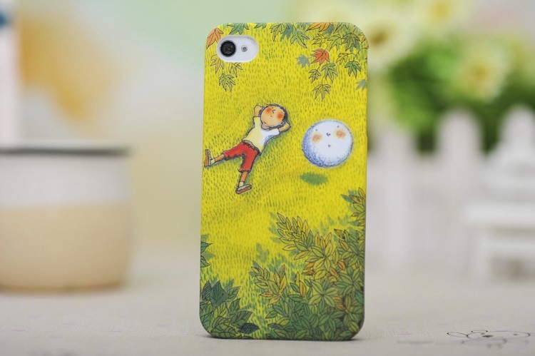 【苹果磨砂夜光助手iphone4/4s手机壳手机保快用手机几米手机怎么连接漫画图片