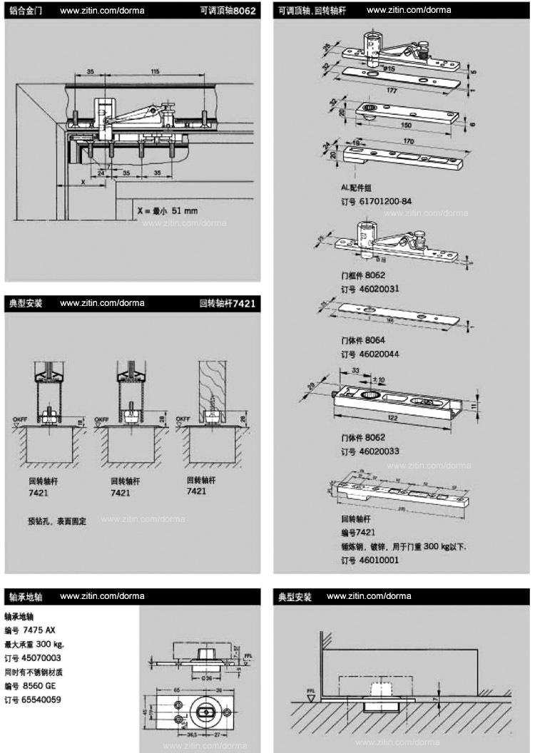德国多玛地弹簧 BTS 80