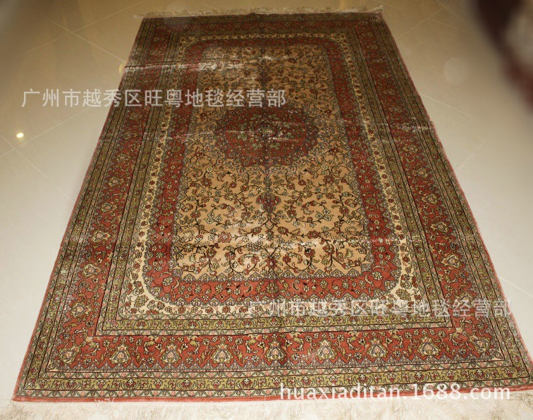 【厂家】供应穆斯林朝拜地毯 手工真丝地毯 量大价优