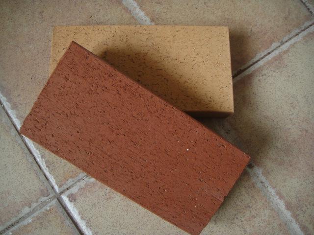 宜兴陶砖230115*40真空砖带孔砖陶土砖烧结砖广场砖图片_6