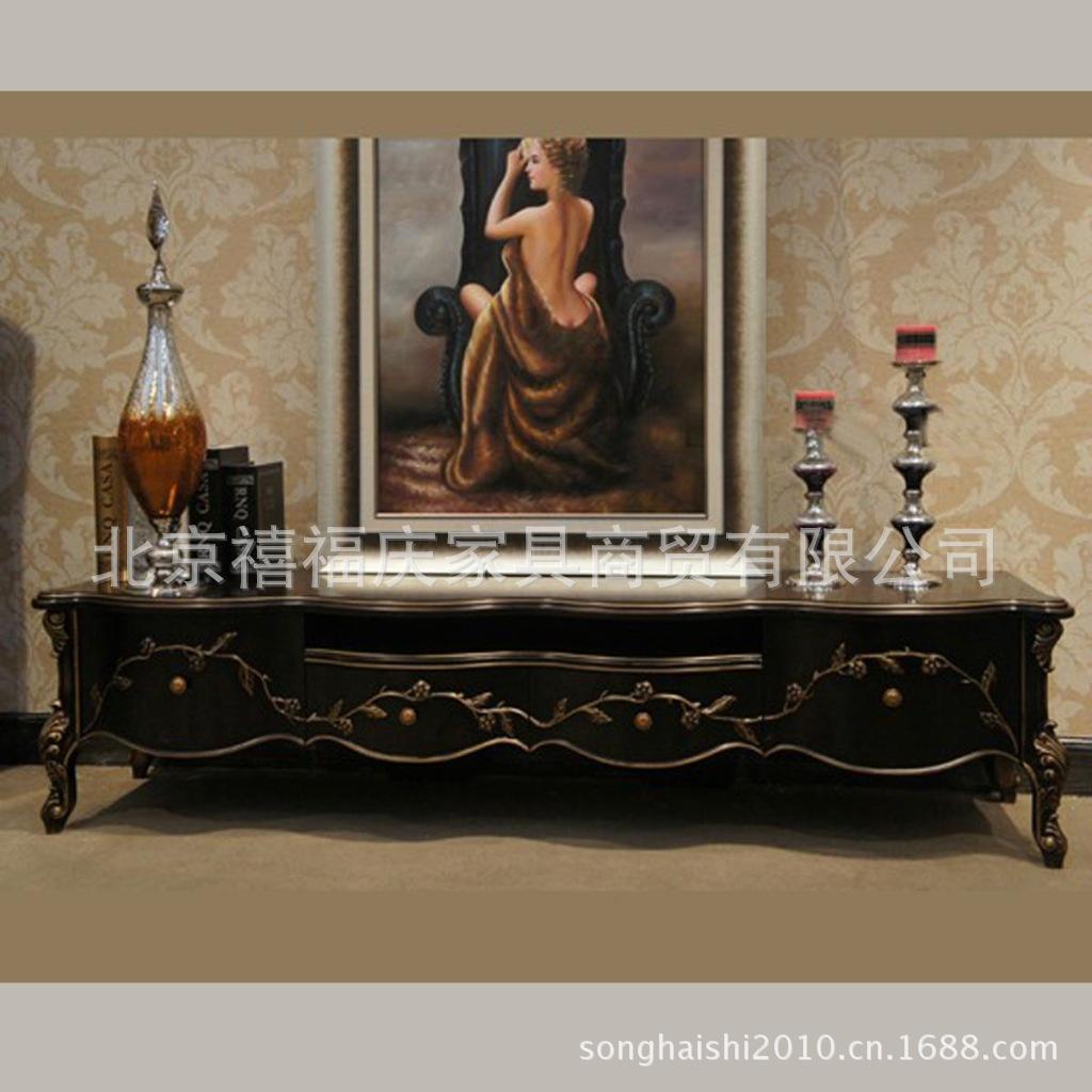 【欧式分店欧式实木古典家具家具装饰柜北京青岛上海家具一木客厅图片