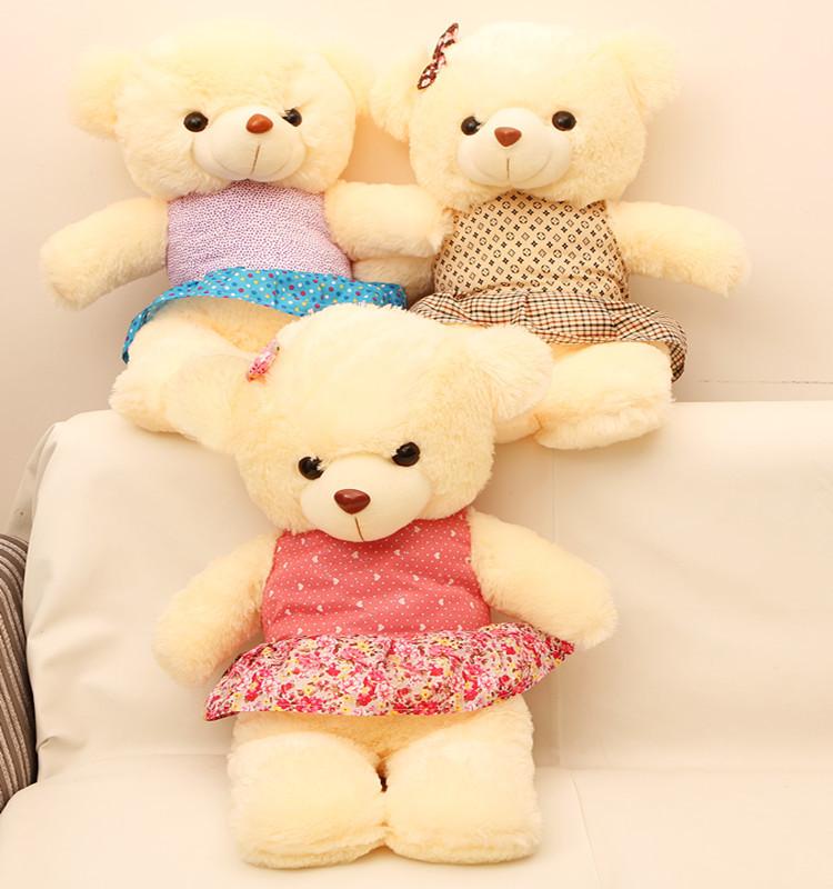 可爱泰迪熊图片_米布害羞熊泰迪熊可爱毛绒玩具布娃娃最专