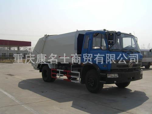华林HLT5124ZYS压缩式垃圾车ISDe180东风康明斯发动机
