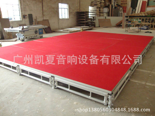 1.22x1.22m assemble stage syst
