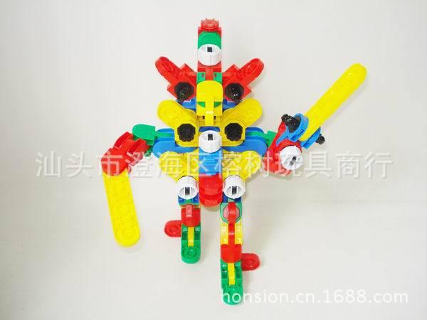 3D立体积木儿童智力拼图宇宙战机系列 中文版 -价格,厂家,图片,