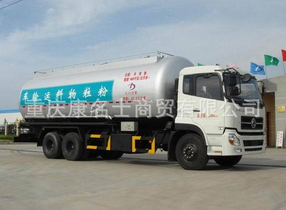 大力DLQ5251GFLA9粉粒物料运输车ISDe230东风康明斯发动机