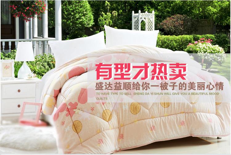 最受淘宝人喜爱的床上用品生产厂家就在这里特价直销薄被子